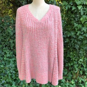 Anthropologie nubby knit swing style sweater